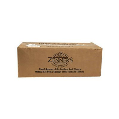 Zenners Sausage Company Double Smoked Sausage With Bacon & Cheddar