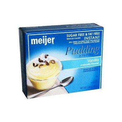 Meijer Sugar Free Instant Vanilla Pudding & Pie Filling Mix