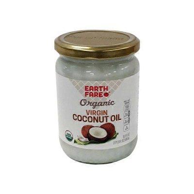 Earth Fare Small Organic Virgin Coconut Oil