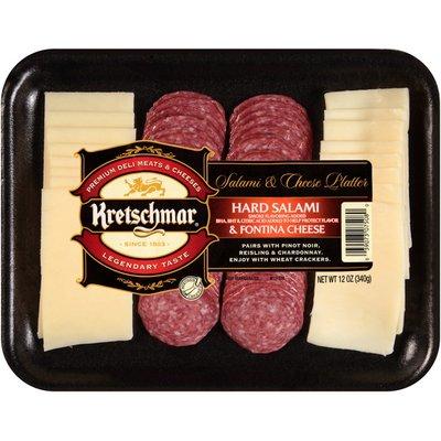Kretschmar Hard Salami & Fontina Cheese Salami & Cheese Platter