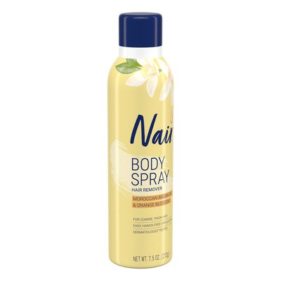 Nair Hair Remover Nourish Sprays Away Moroccan Argan Oil