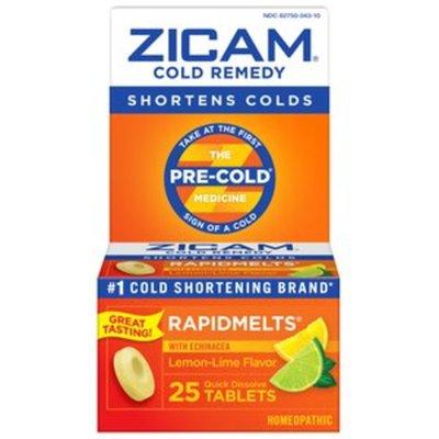 Zicam Cold Remedy, Lemon-Lime Flavor, Quick Dissolve Tablets
