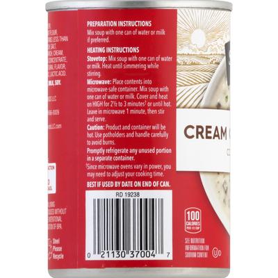 Signature Kitchens Condensed Soup, Cream of Mushroom