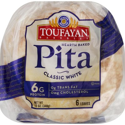 Toufayan Pita, Classic White