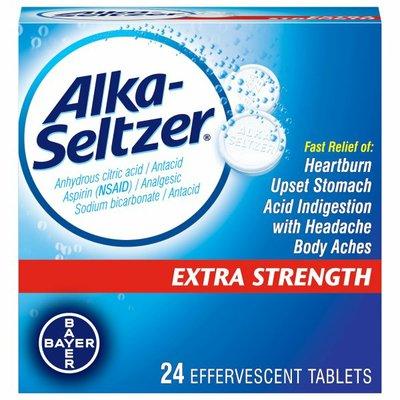 Alka-Seltzer Antacid/Analgesic, Extra Strength, Effervescent Tablets