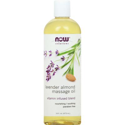 Now Massage Oil, Lavender Almond