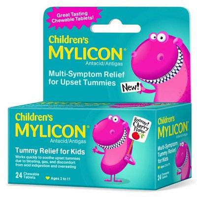 Mylicon Children's Tummy Relief for Kids, Cherry Flavor