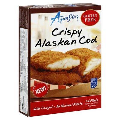 Aqua Star Alaskan Cod, Crispy, Box