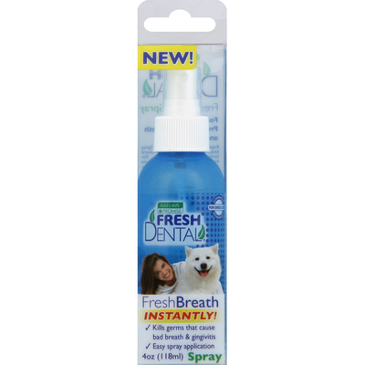 Naturel Promise Fresh Breath Spray for Dogs & Cats