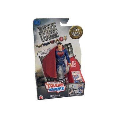 "Mattel 6"" Justice League Superman Talking Heroes Action Figure"