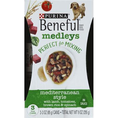 Purina Beneful Wet Dog Food, Medleys Mediterranean Style With Lamb