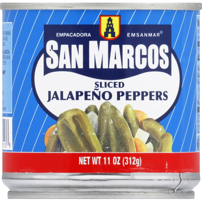 San Marcos Jalapeno Peppers Sliced
