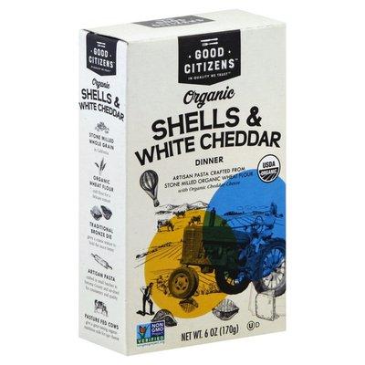Good Citizens Shells & White Cheddar, Organic, Dinner