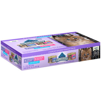 Blue Buffalo Food for Kittens Pate Variety Pack