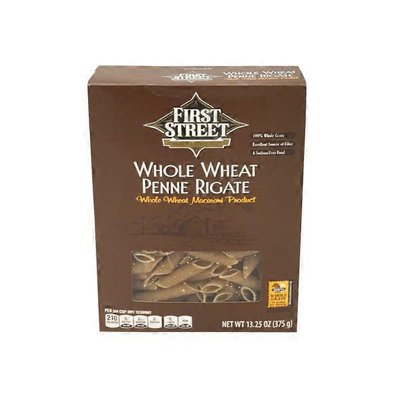 First Street Whole Wheat Penne Rigate