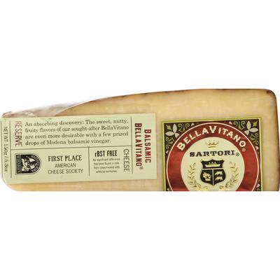 Bellavitano Balsamic Sartori Reserve Cheese