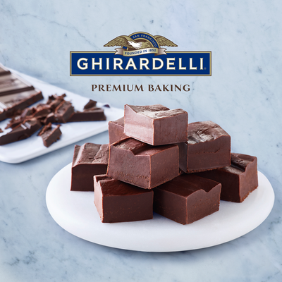 Ghirardelli Premium 100% Cacao Unsweetened Chocolate Baking Bar