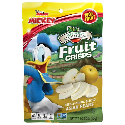 Brothers All Natural Disney Freeze-Dried Asian Pear Fruit Crisps