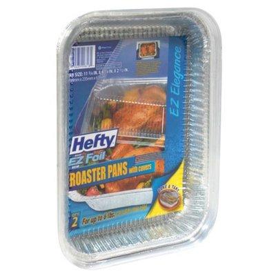 Hefty EZ Foil 11 3/4 in x 9 1/4 in x 2 1/2 in Roaster Pans