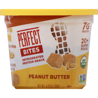Perfect Bites Protein Snack, Peanut Butter