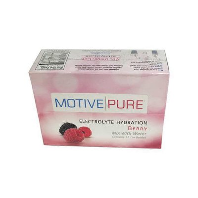 Motive Pure BERRY ELECTROLYTE HYDRATION Mix With Water