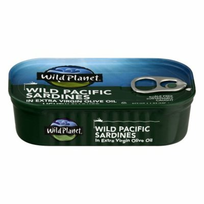 Wild Planet Sardines in Extra Virgin Olive Oil, Wild Pacific