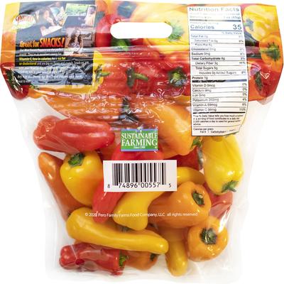 Pero Family Farms Peppers, Sweet, Mini