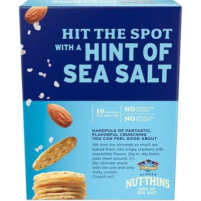 Blue Diamond Crackers, Hint of Sea Salt