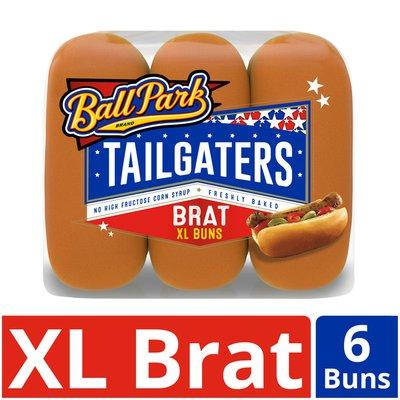 Ball Park Tailgaters Brat Buns
