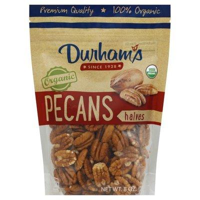 Durhams Pecan, Organic, Halves