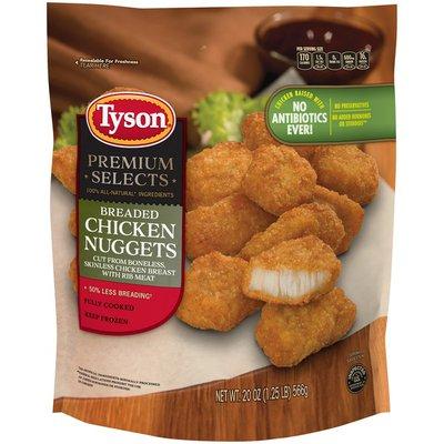 Tyson Breaded Chicken Nuggets
