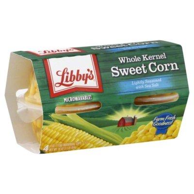 Libby's Whole Kernel Sweet Corn Lightly Seasoned with Sea Salt