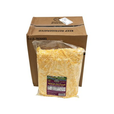 First Street Mexican Style Fancy Shredded Monterey Jack, Cheddar, Queso Quesadilla & Asadero Cheese Blend