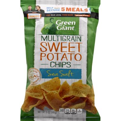 Green Giant Sweet Potato Chips, Multigrain, Sea Salt