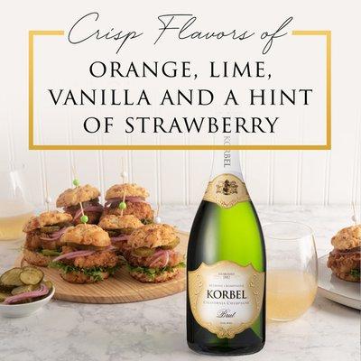 KORBEL Brut California Champagne