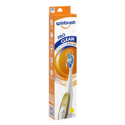 Spinbrush Spinbrush Pro Clean Dual Action Soft Powered Toothbrush