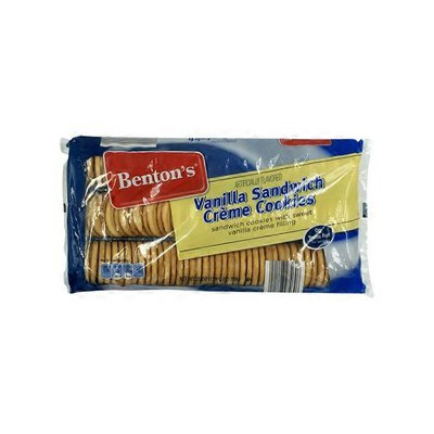 Benton's Vanilla Sandwich Crème Cookies