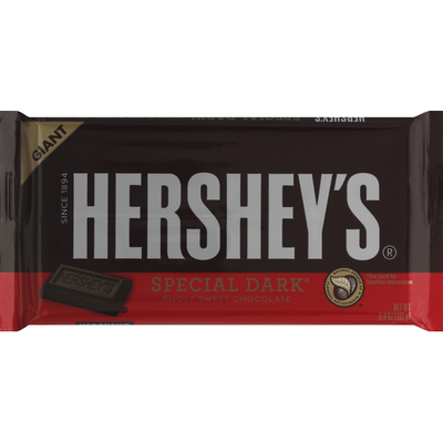 Hershey Candy Bar, Special Dark, Giant
