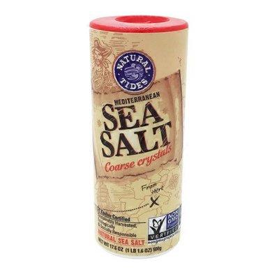 Natural Tides Mediterranean Sea Salt