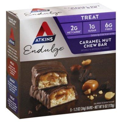 Atkins Endulge Treat Caramel Nut Chew Bar - 5 CT