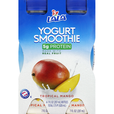 LALA Yogurt Smoothie, Tropical Mango