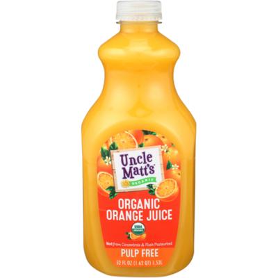 Uncle Matt's Organic Organic Pulp Free Orange Juice