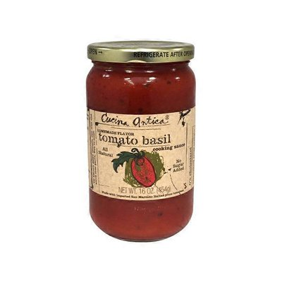 Cucina Antica All Natural Tomato Basil Cooking Sauce