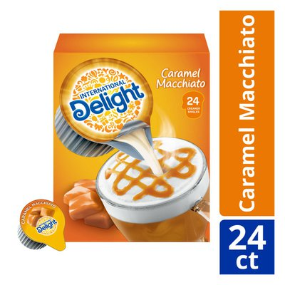 International Delight Caramel Macchiato Coffee Creamer Singles