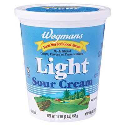 Wegmans Food You Feel Good About Light Sour Cream