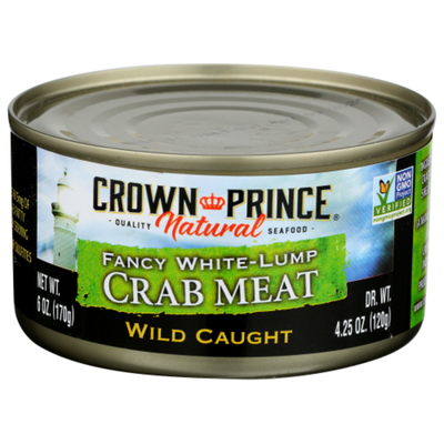 Crown Prince Crab Meat, Fancy White-Lump