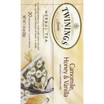 Twinings Camomile, Honey & Vanilla Herbal