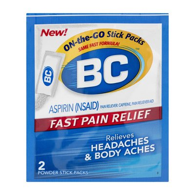 BC Fast Pain Relief Headache & Body Aches