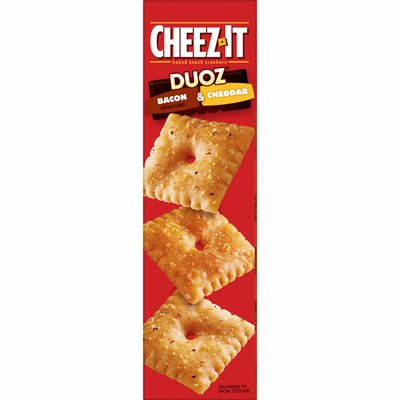 Cheez-It Crackers, Baked Snack Crackers, Bacon and Cheddar