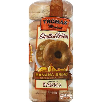 Thomas' Bagels, Banana Bread